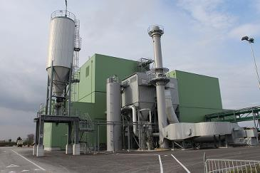 The Zignago power plant in Italy